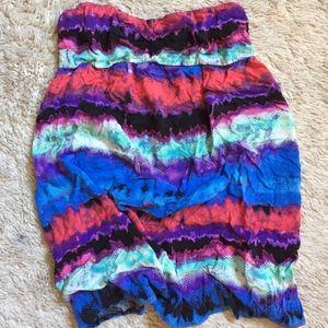 Xhilaration Colorful Dress/Coverup